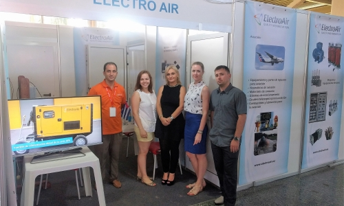 ElectroAir at FIHAV Havana International Fair 2017 in Havana, Cuba!