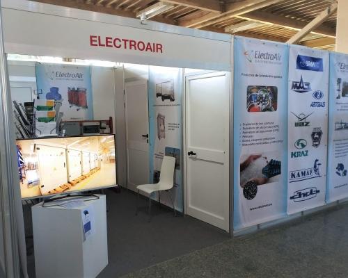 El equipo de ElectroAir participó en la Feria FIHAV 2018 en La Habana