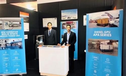 ElectroAir team took part in Marrakech AirShow 2018 in Marrakech