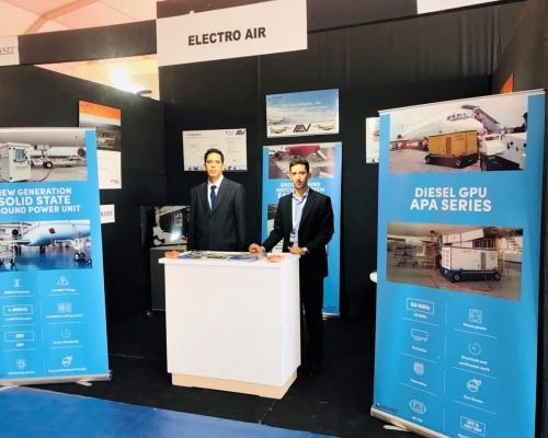 El equipo de ElectroAir participó en la feria Marrakech AirShow 2018