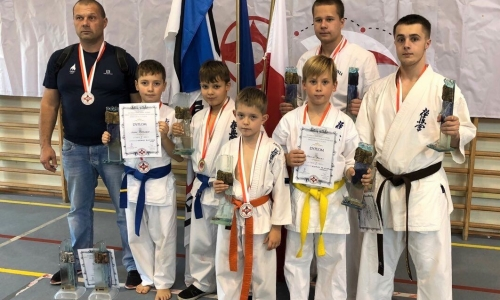 Поддержка детского спорта в Эстонии дает свои результаты. Первые чемпионы международных турниров